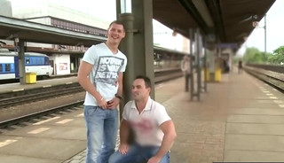 sex in public - train station
