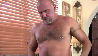 DADDY TRAINS YOUR ass WITH HIS throbbing rod