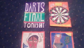 CUM FOR DARTS MATCH