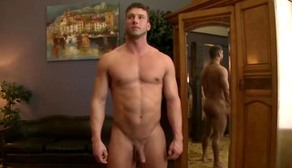 Rod Pederson Straight Jock Begs To Cum With A Dildo In His Ass