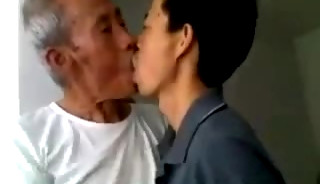 Oriental Grandpas have sex