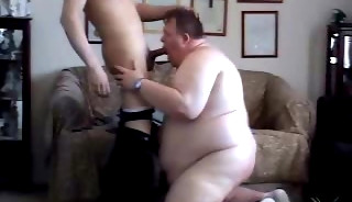 A Superchub gets Spanked and Fucked